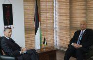 السفير دياب اللوح يلتقي نظيره الألماني في مصر