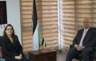 السفير دياب اللوح يلتقي نظيرته الكوبية في مصر
