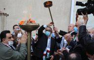 سفارة دولة فلسطين بالقاهرة توقد شعلة الانطلاقة الـ56