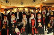 سفارة فلسطين تشارك في حفل تخرج كلية طب المنصورة