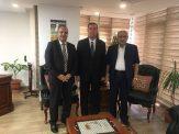 السفير دياب اللوح يستقبل مفوض هيئة حقوق الانسان بفلسطين