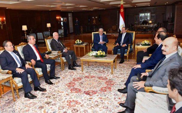 السيسي يؤكد حرص مصر على دعم التحرك الفلسطيني الساعي لاستعادة حقوق شعبنا