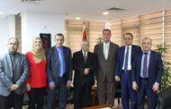 السفير دياب اللوح يستقبل رئيس دائرة حقوق الانسان بمنظمة التحرير