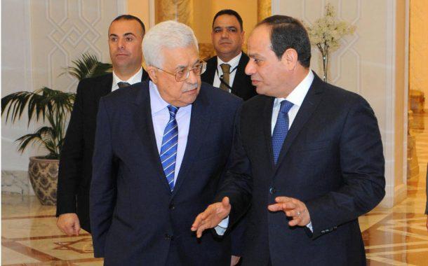 الرئيس يجتمع مع نظيره المصري