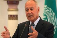 الرئيس يستقبل أبو الغيط ويطلعه على آخر التطورات