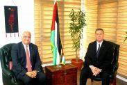 الدكتور صائب عريقات يلتقي كادر سفارة دولة فلسطين بالقاهرة ومندوبيتها الدائمة لدى الجامعة العربية