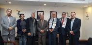 الملحقية الثقافية تستقبل رئيس الأكاديمية العربية للعلوم المصرفية