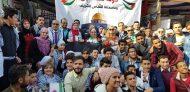 فلسطين تشارك في مهرجان أيام الشعوب بكلية العلاج الطبيعى بجامعة القاهرة