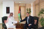 السفير دياب اللوح يستقبل مدير منظمة العمل العربية