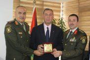 السفير دياب اللوح يستقبل وفد فلسطين المشارك في اجتماعات ندوة توحيد المصطلحات العسكرية