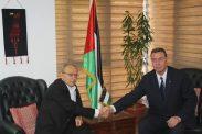 السفير دياب اللوح يستقبل وزير هيئة الأسرى