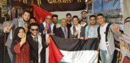 فلسطين تشارك في المهرجان السنوي الثاني للوافدين بجامعة بنى سويف