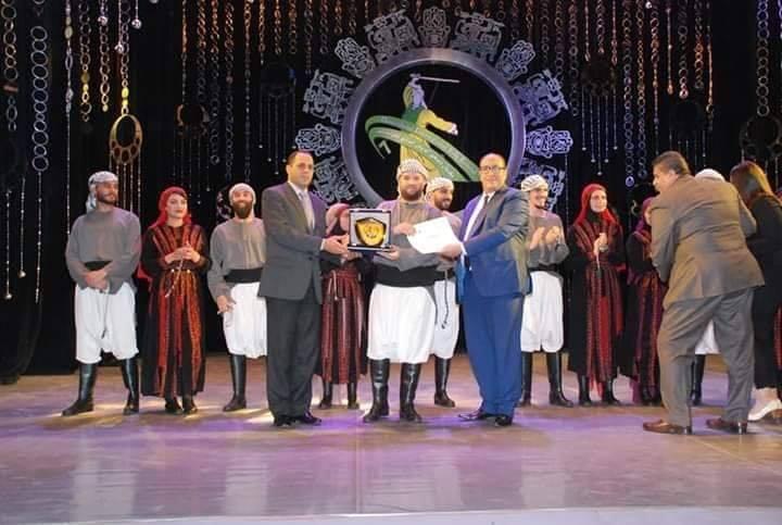 فلسطين تشارك في مهرجان دمنهور الدولي السابع للفولكلور