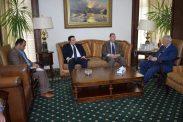السفير دياب اللوح يلتقي رئيس المجلس الأعلى للإعلام المصري