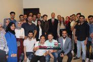 خلال مأدبة إفطار سفارة فلسطين بالقاهرة ....طلبة فلسطين بمصر يؤكدون الالتفاف حول الرئيس في مواجهة التحديات الراهنة