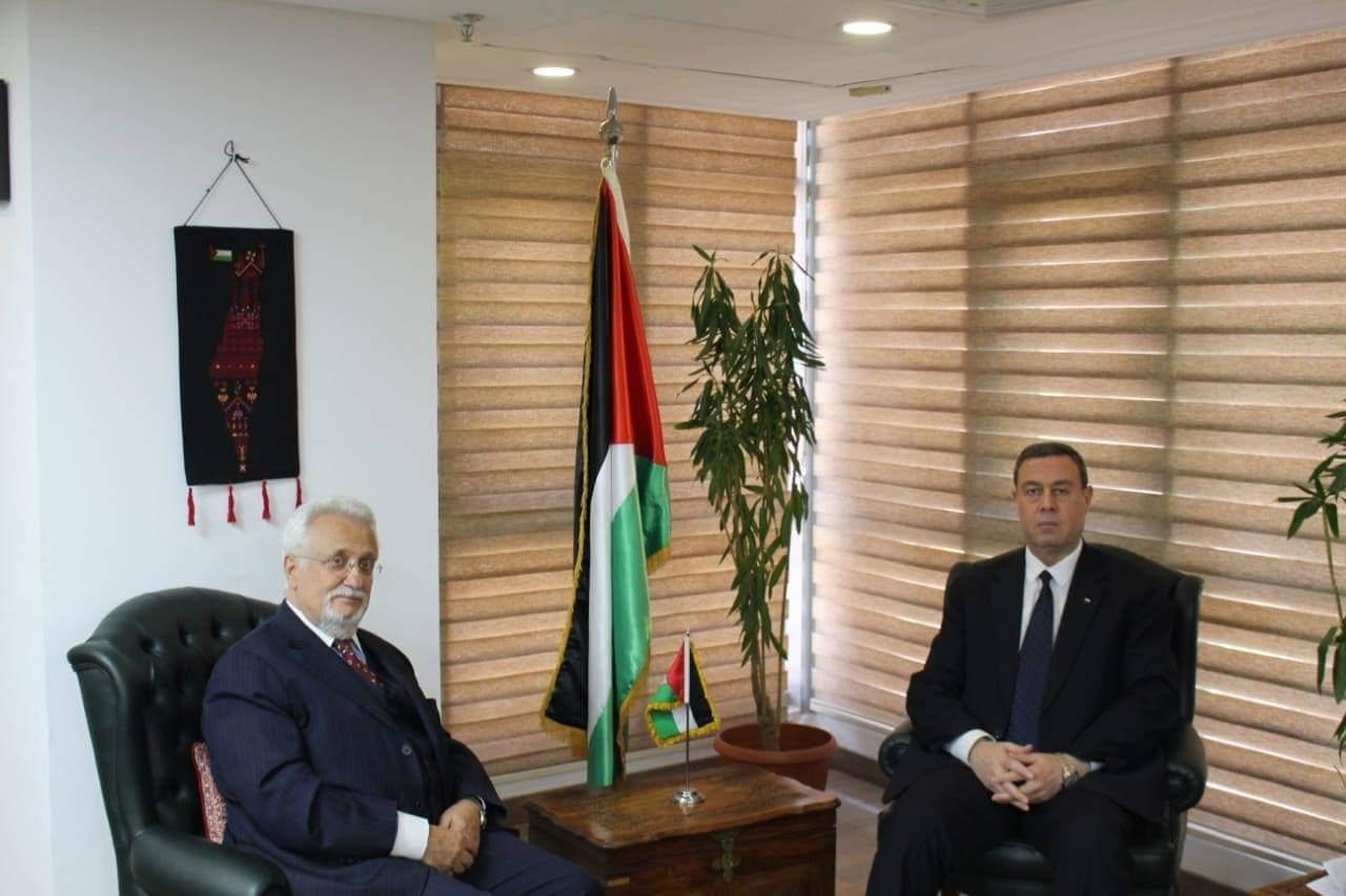 السفير دياب اللوح يجتمع مع نظيره الكرواتي