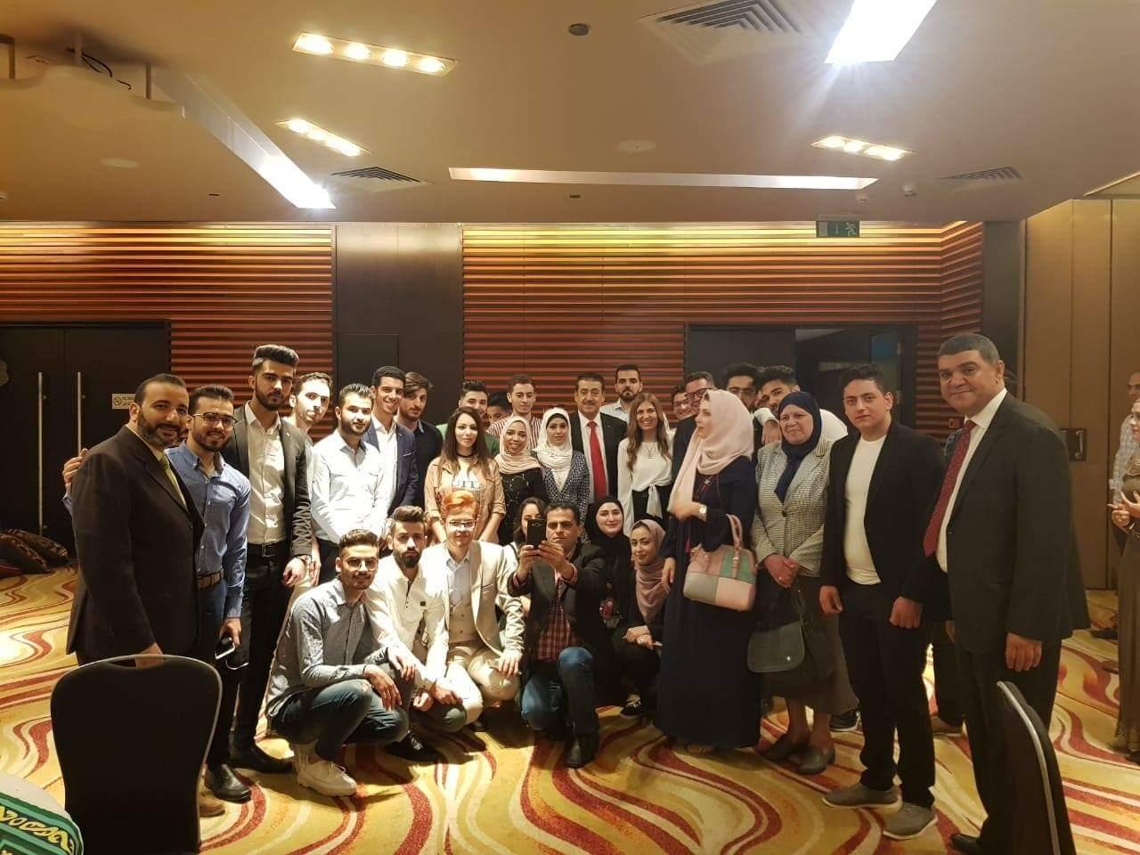 قنصلية فلسطين بالاسكندرية تنظم حفل افطار رمضاني جماعي للجالية