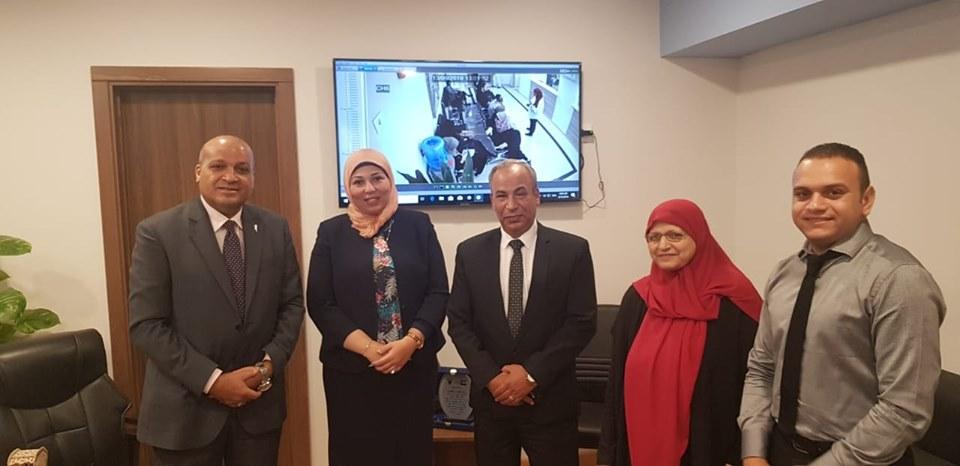 المستشار الثقافي يلتقي رئيسة الإدارة المركزية للوافدين لبحث شواغل الطلاب الدارسين في مصر