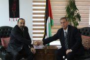 السفير دياب اللوح يستقبل النائب العام المستشار أكرم الخطيب