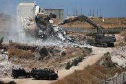 الخارجية: تدمير البنايات في واد الحمص هدم ممنهج للسلام برعاية أميركية