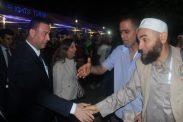 السفير دياب اللوح يستقبل الفوج الأول من حجاج قطاع غزة