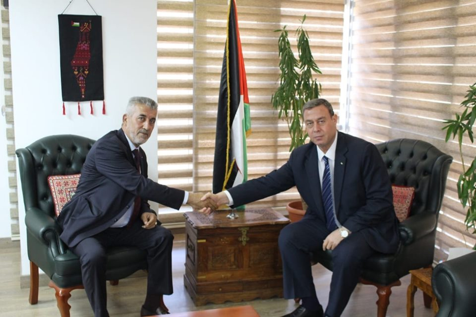 *الصالح يبحث مع وزير التنمية المصري سبل تعزيز التعاون المشترك*
