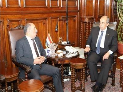 وزير الزراعة يبحث مع نظيره المصري سبل التعاون بين البلدين