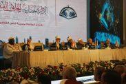 السفير دياب اللوح يستقبل قاضي قضاة فلسطين ومفتي القدس ممثلي فلسطين في اجتماع دور وهيئات الإفتاء في العالم
