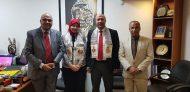 المستشار الثقافي للسفارة يستقبل مستشار وزارة التعليم العالي المصرية