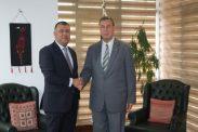 السفير دياب اللوح يستقبل رئيس وحدة حقوق الانسان بوزارة العدل