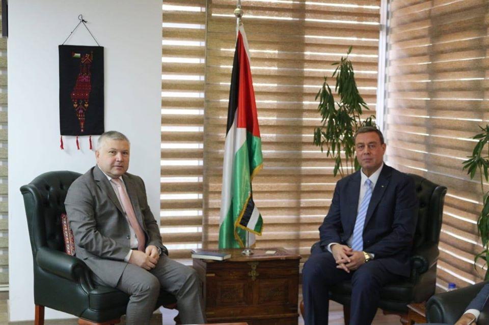السفير دياب اللوح يستقبل نظيره الأرميني