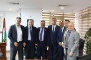 السفير دياب اللوح يستقبل وفد فلسطين المشارك في اجتماعات اتحاد الصيادلة العرب