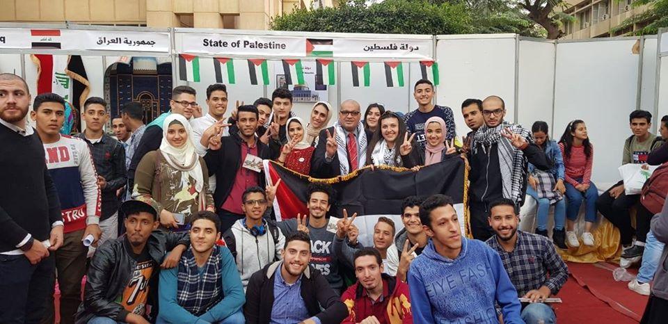 فلسطين تشارك في ملتقى الثقافات الثاني بكلية الإعلام لجامعة القاهرة