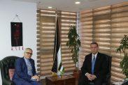 السفير دياب اللوح يستقبل نظيره الألماني في مصر