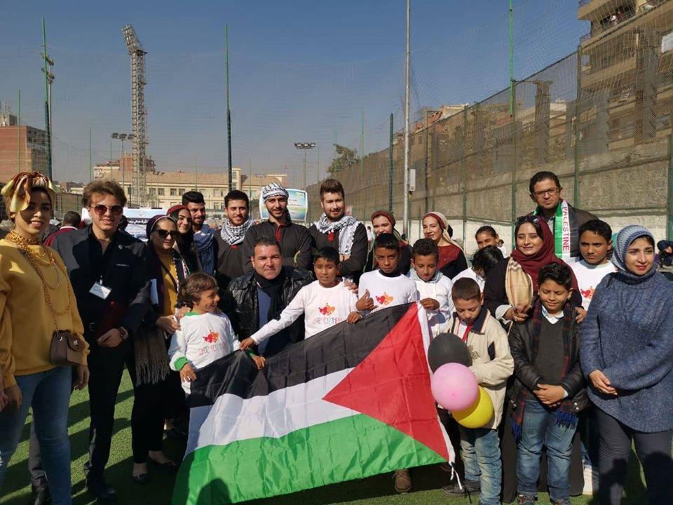 فلسطين تشارك في احتفالية اليوم العالمي للإعاقة بمصر