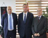 السفير دياب اللوح يستقبل عضوي اللجنة المركزية اللواء الرجوب والدكتور الرفاعي بالقاهرة