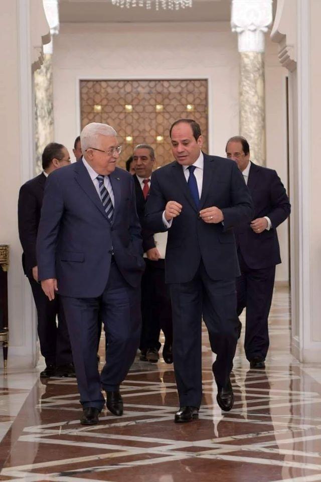 لقاء قمة بين الرئيس ونظيره المصري