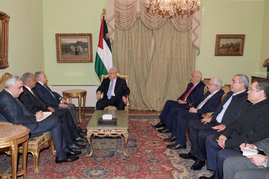 الرئيس يستقبل وزير خارجية العراق