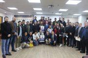 السفير اللوح يطلع الطلبة الملتحقين بجامعة القاهرة على آخر المستجدات بالقضية الفلسطينية