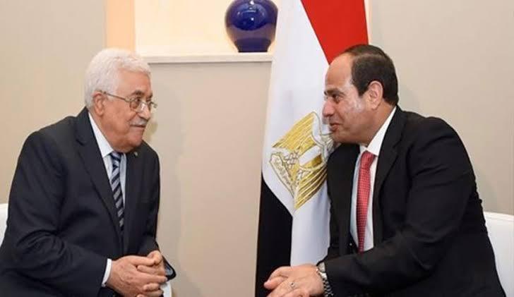 السيسي خلال اتصاله بالرئيس: مصر تقف دوما إلى جانب الحق الفلسطيني