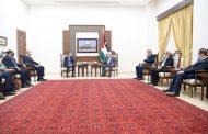 الرئيس يستقبل الوفد الأمني المصري