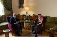 المالكي يبحث مع وزير الخارجية السعودي آخر المستجدات الفلسطينية