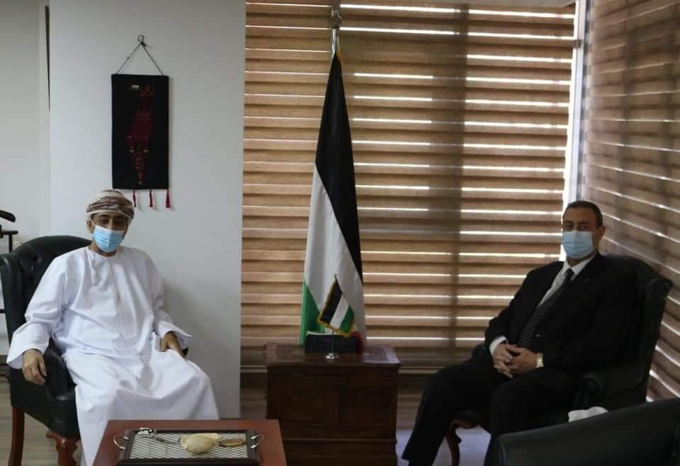 السفير دياب اللوح يلتقي نظيره العُماني في مصر