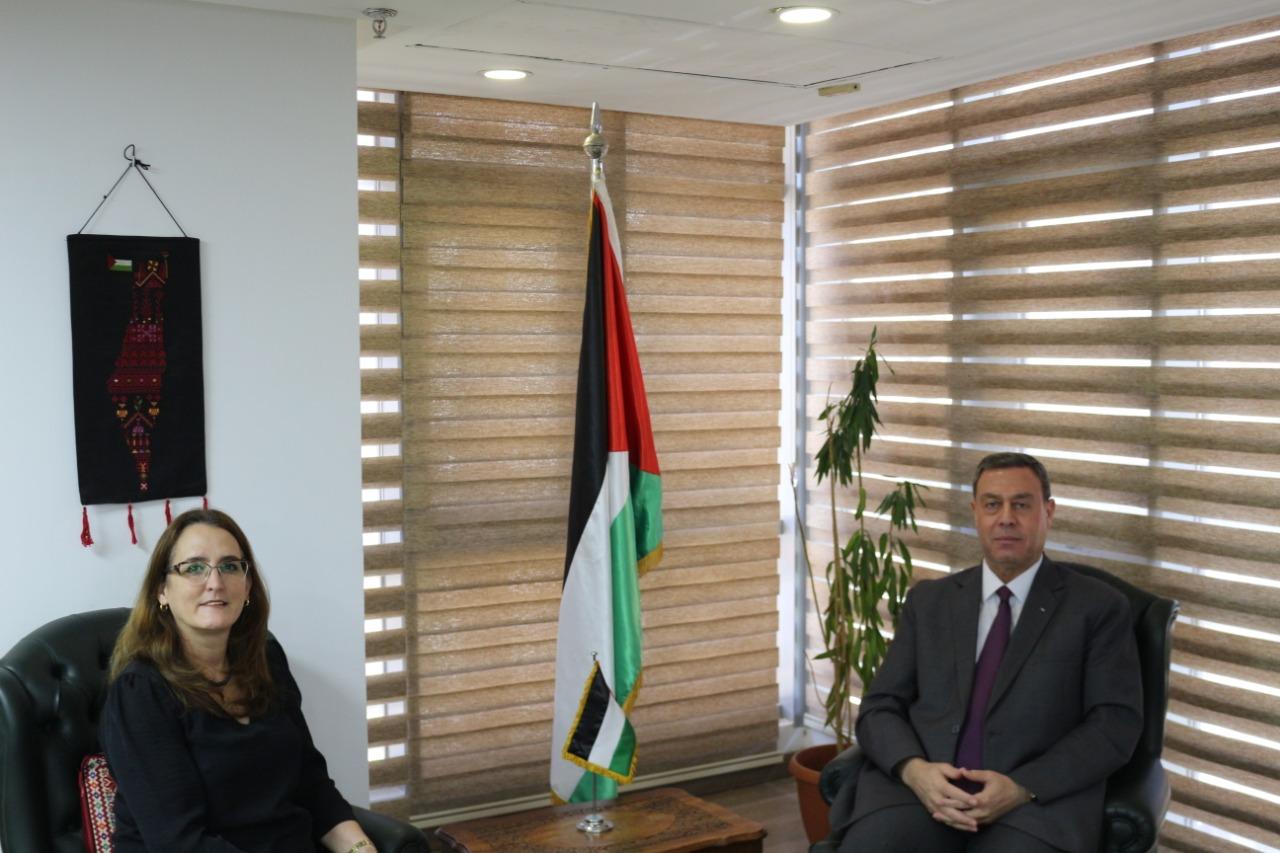 السفير دياب اللوح يلتقي نظيرته الكوبية بالقاهرة