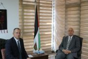 السفير دياب اللوح يستقبل نظيره البولندي بالقاهرة