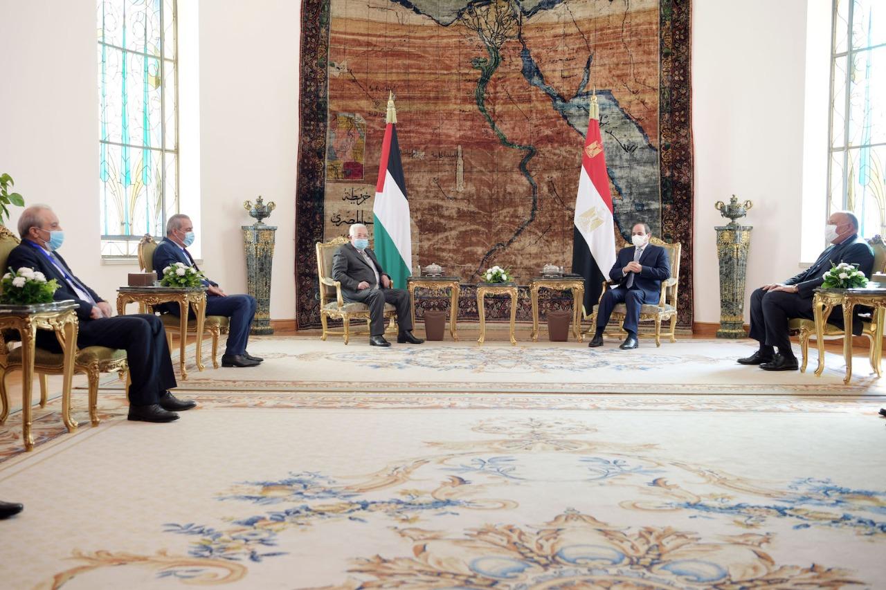 بدء اجتماع قمة بين الرئيس ونظيره المصري