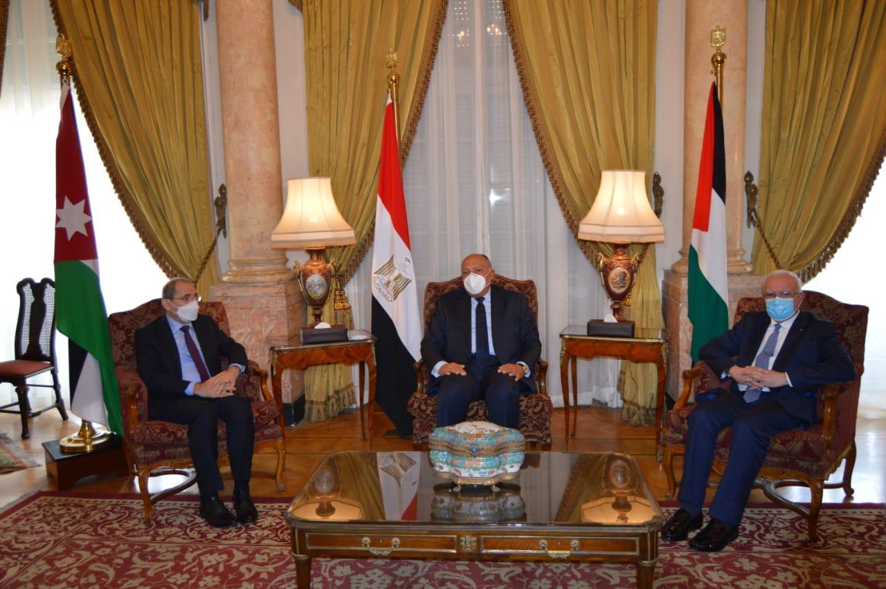 فلسطين ومصر والأردن: قرارات الشرعية الدولية والمبادرة العربية تمثل المرجعيات للتفاوض باعتباره السبيل للسلام