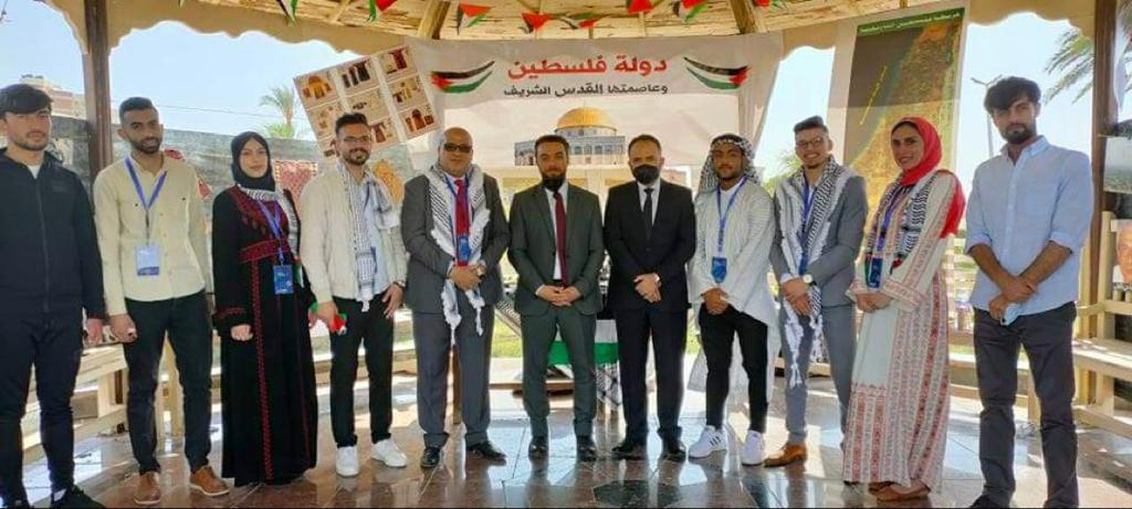 فلسطين تتميز في مشاركتها بالملتقى الدولي لتراث الشعوب للوافدين