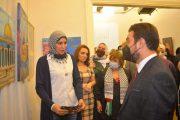 القاهرة: افتتاح المعرض الفني