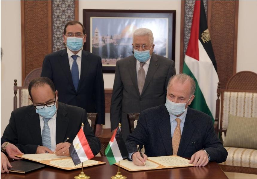 الرئيس يستقبل وزير البترول المصري